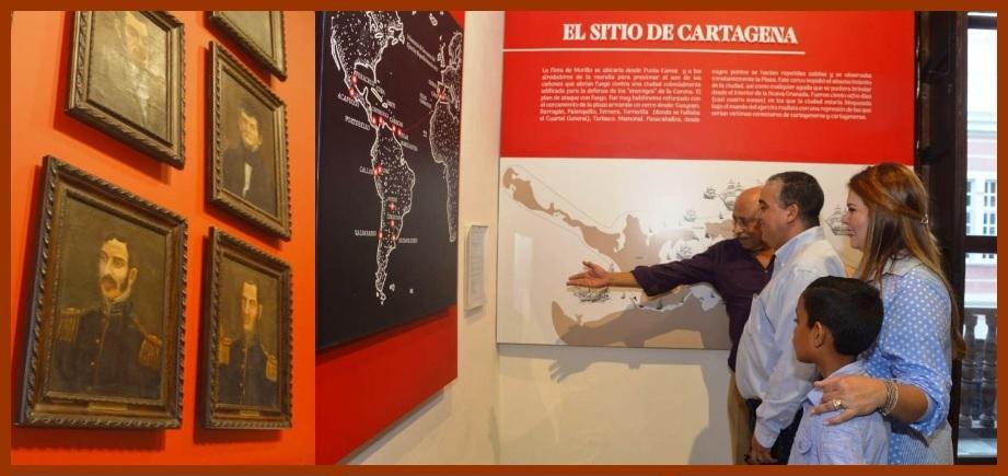 Museo Histórico, con nuevas salas para recordar la Independencia de Cartagena