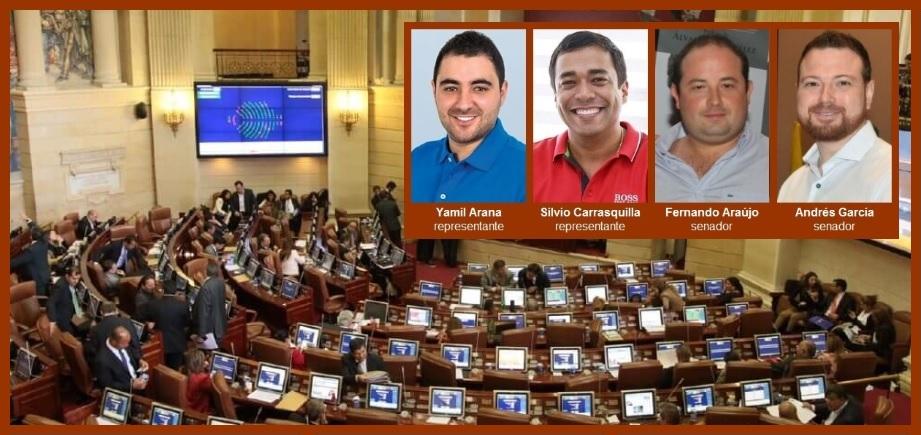Cuatro congresistas de Bolívar apoyaron la reforma tributaria