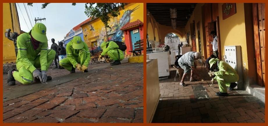 «Por razones de salud, el chicle debe arrojarse a la caneca y no al piso»: Pacaribe