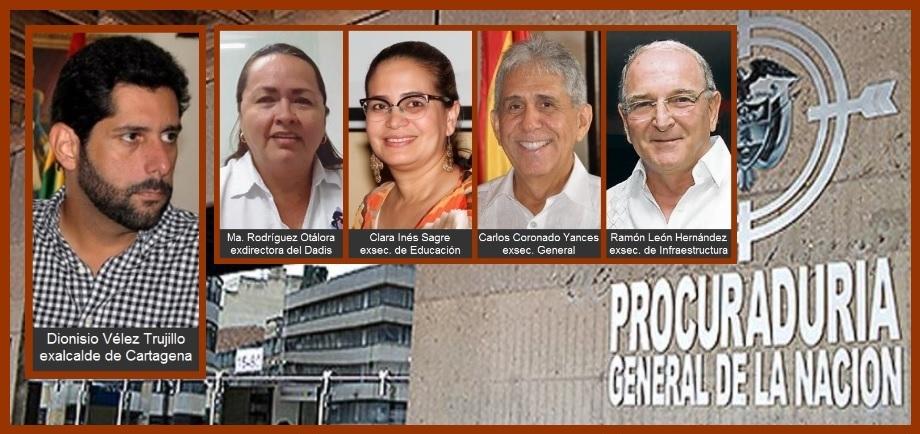 Veeduría hará control social a procesos contra exfuncionarios del Distrito de Cartagena