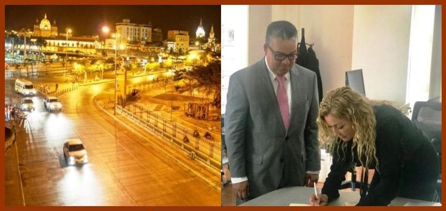 Para Findeter, la mejor opción para iluminar a Cartagena es renegociar el actual contrato