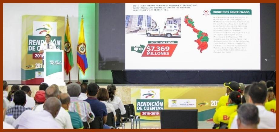 Rendición de cuentas: así avanzó Bolívar en los últimos cuatro años