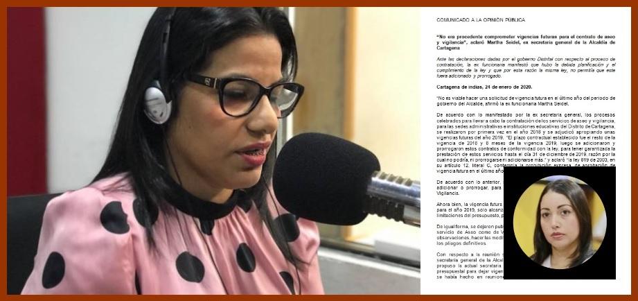 Diana Martínez dice que «algunas personas» interpretaron mal su ponencia