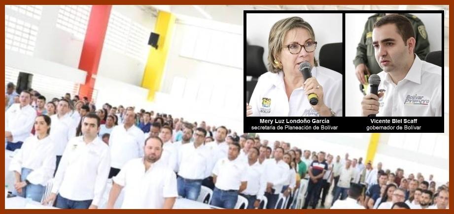 Gobernación y comunidad prosiguen construyendo el Plan de Desarrollo de Bolívar
