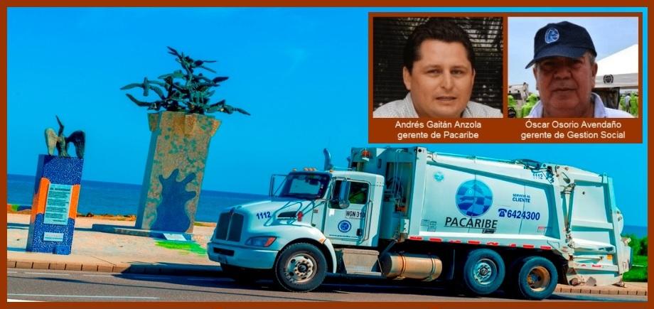 En el 2019, Pacaribe recolectó en Cartagena más de 250 mil toneladas de residuos sólidos