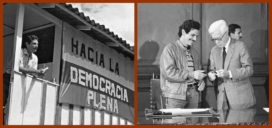 Hoy se conmemoran 30 años de la firma de paz entre el Gobierno Nacional y el M-19