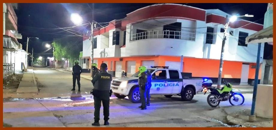 Con la fuerza pública en la calle, Gobernación hace cumplir la cuarentena en Bolívar