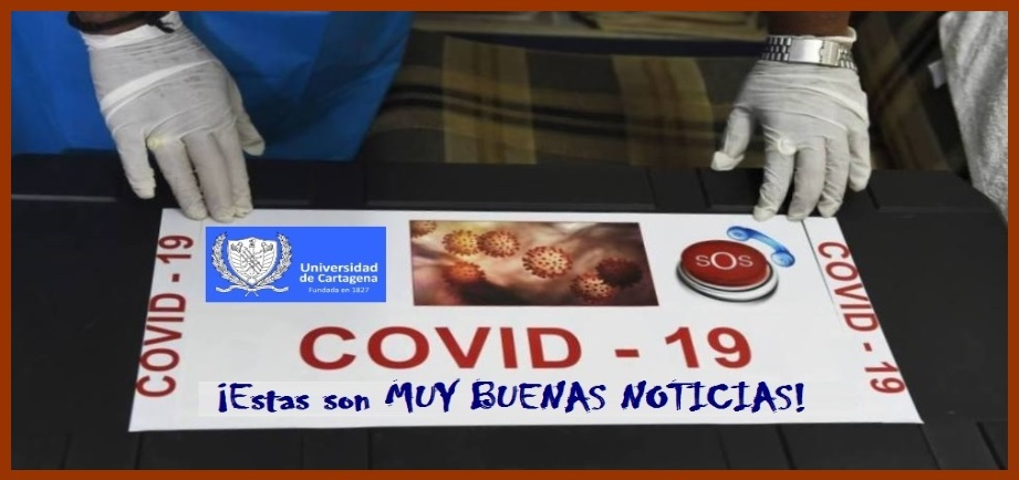 En Cartagena -¡por fin! – una serie de noticias positivas en la lucha contra el coronavirus