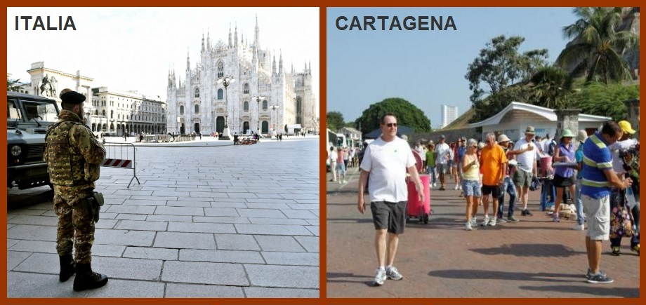 Visita de turistas italianos no debería ser motivo de preocupación: Distrito