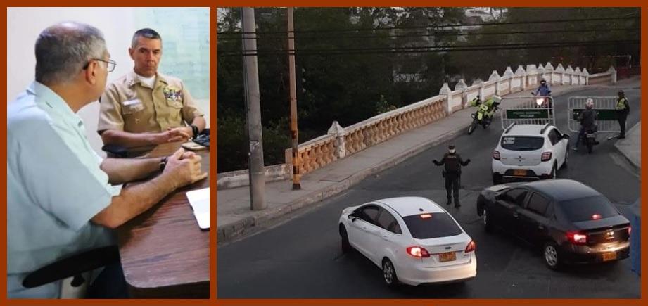 Dau declara la Calamidad Pública y decreta toque de queda desde las 6 de la tarde