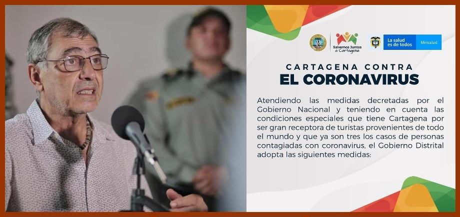 Ante anuncio de dos nuevos casos, Distrito endurece medidas contra el coronavirus
