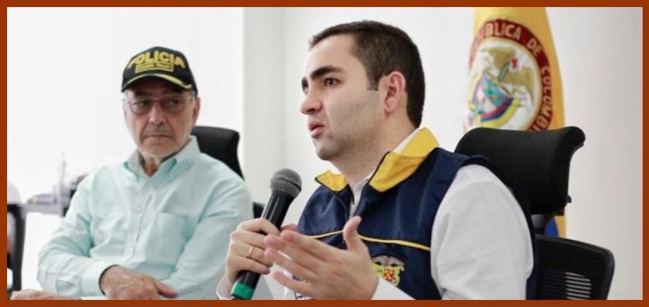 El gobernador Vicente Blel y el alcalde Dau articulan Plan de Acción contra el Covid-19