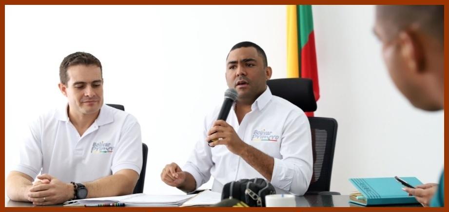 Gobernación redobla acciones en contra del coronavirus en los municipios de Bolívar