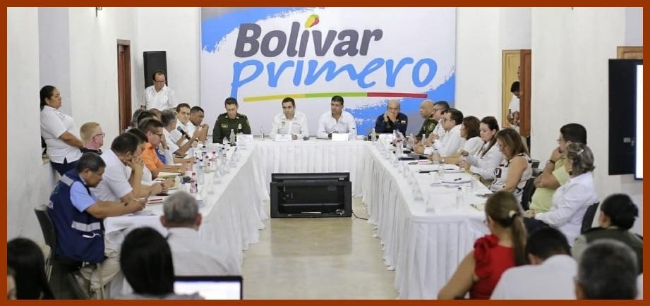 Gobernación de Bolívar presenta plan de acción para hacerle frente al coronavirus