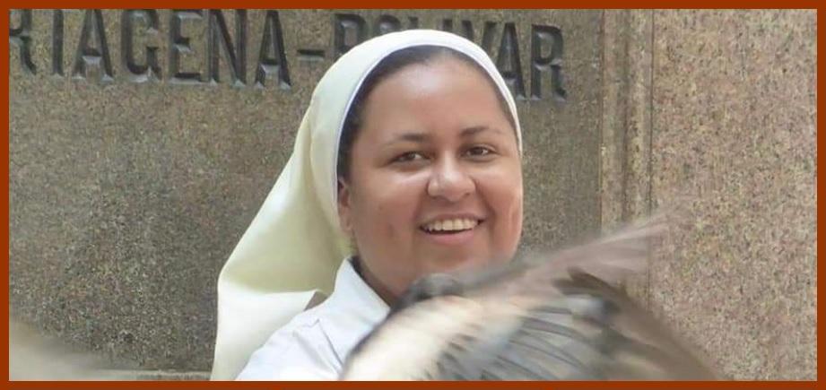 Hermana Johana Rivera Ramos, ¡positiva!