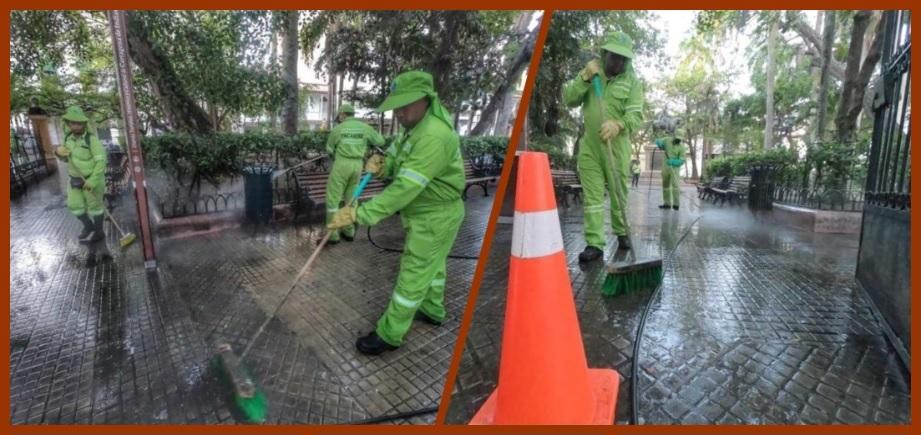 Pacaribe limpiará más de 20 lugares emblemáticos del Centro de Cartagena
