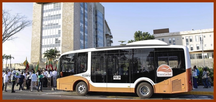Transcaribe vuelve a operar ruta con parada en la Gobernación de Bolívar