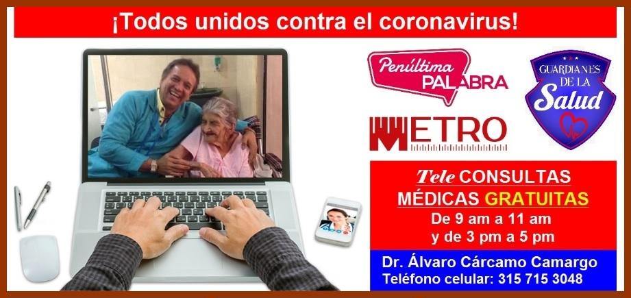 Marcando el 315 715 3048, ciudadanía podrá realizar consultas médicas gratuitas