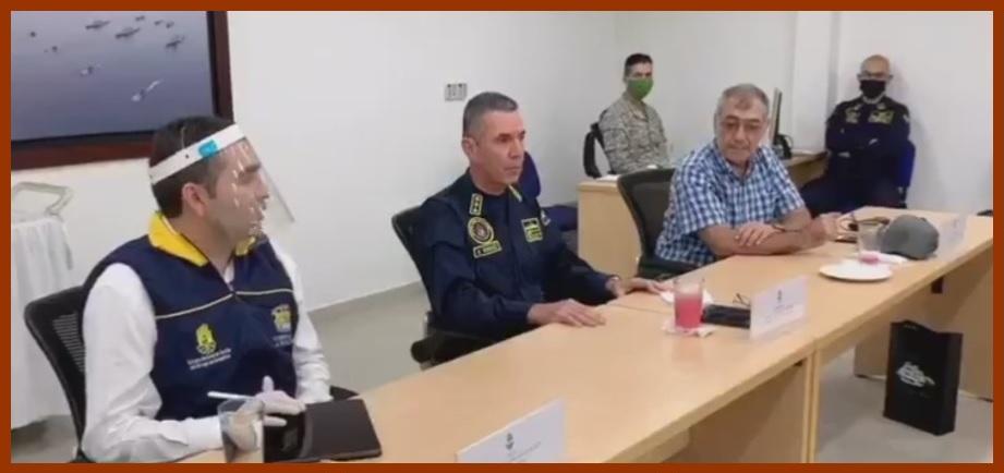 Comandante de la Fuerza Naval del Caribe promueve encuentro Distrito y Gobernación