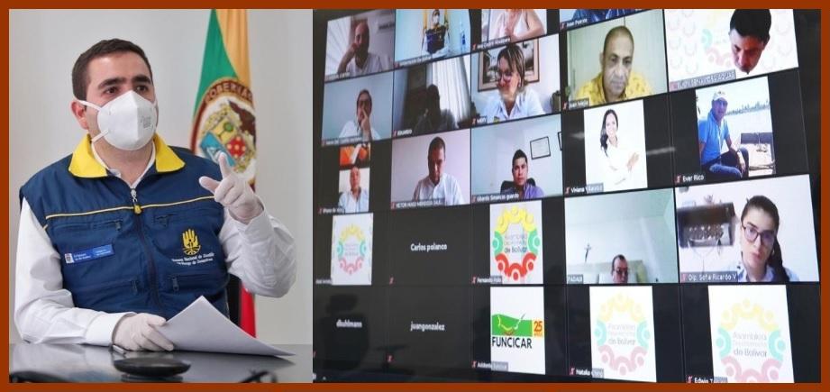 Gobernador anuncia que durante su mandato se invertirán $6.5 billones en Bolívar