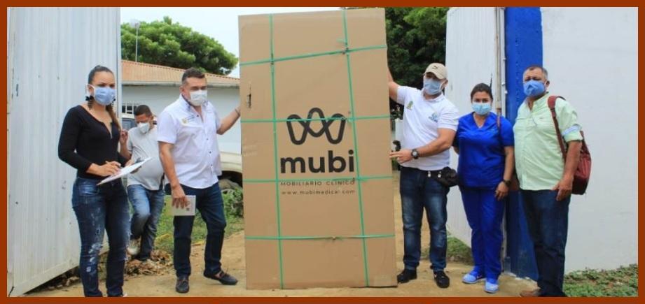 Gobernación entrega 350 camas de UCI y hospitalización para enfrentar el Covid-19