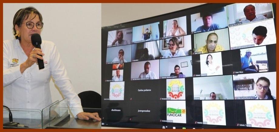 Gobernación inicia ciclo de audiencias virtuales sobre el Plan de Desarrollo 2020-2023