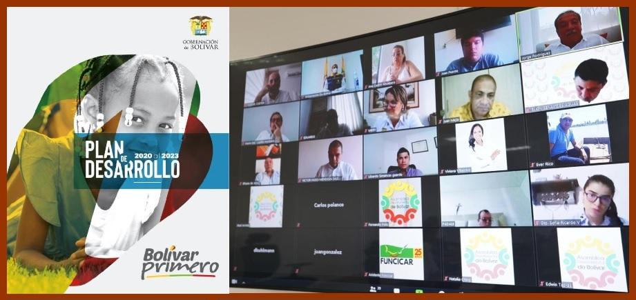 El Plan de Desarrollo 'Bolívar Primero', a descargarse y estudiarse en la web