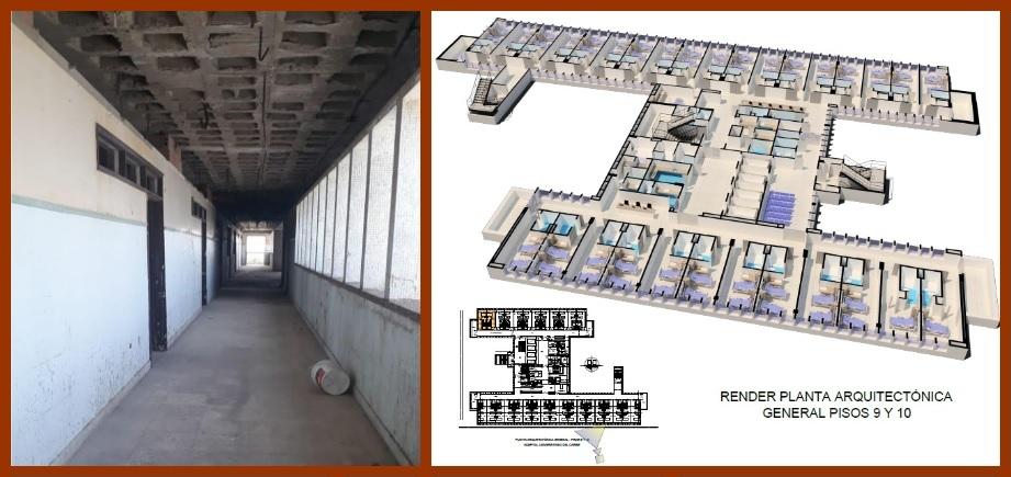 Ocad aprueba $12.629 millones para los pisos 9 y 10 del Hospital Universitario del Caribe