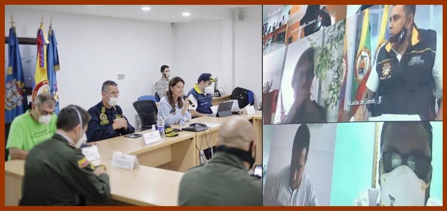 Gobiernos nacional, seccional y local, a enfrentar unidos el Covid en Cartagena