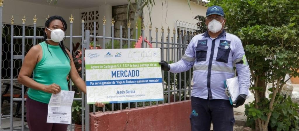 Aguas de Cartagena premia a 35 usuarios puntuales