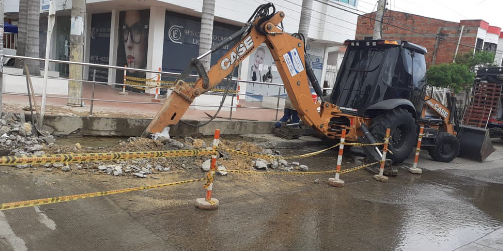 Acuacar reporta daño en la línea de impulsión del tanque Nariño