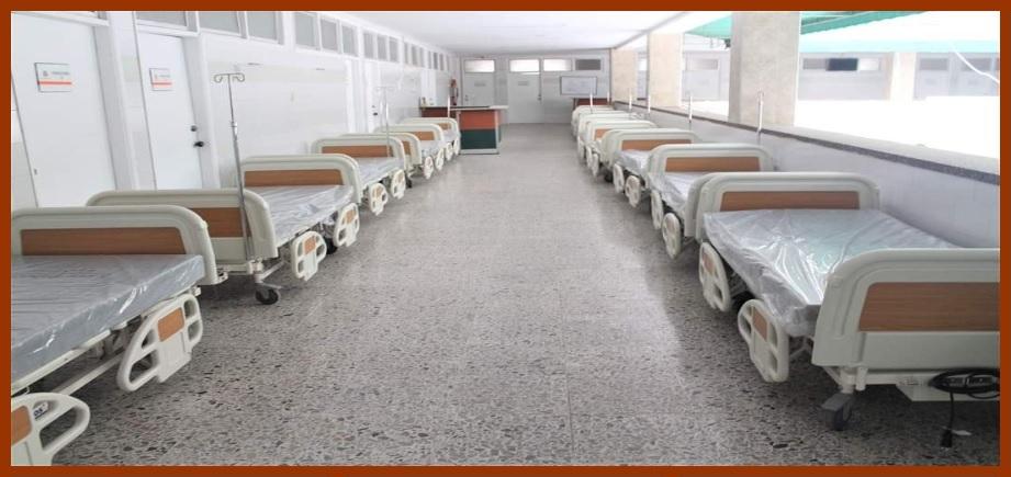 HUC recibe 71 camas nuevas para combatir la pandemia del Covid-19