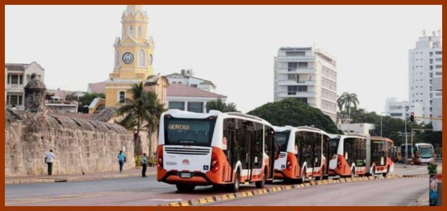 Movilidad post Covid-19: transporte público colectivo y masivo en Cartagena