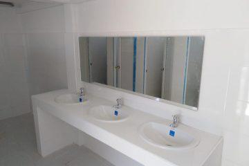 Obras de saneamiento básico del barrio Villa Hermosa entran en su recta final