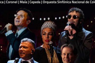#PlanParaHOY Gran concierto de la Orquesta Sinfónica Nacional con Maía, Coronel,  Fonseca y Cepeda