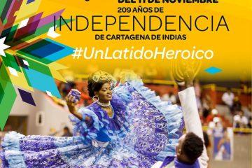 #PlanParaHOY Esta es la programación que invita a disfrutar el IPCC para conmemorar los 209 años de la independencia de Cartagena