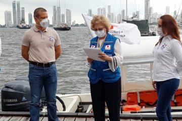 Firman convenio para la prestación del servicio de ambulancia acuática en las islas