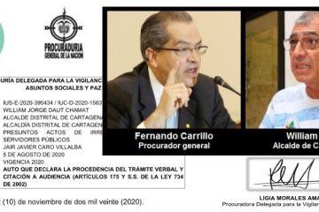 Alcalde de Cartagena, a juicio disciplinario por irrespetar a directivas de la UdeC.