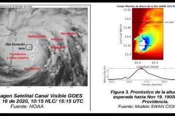«El huracán Iota seguirá afectando el Caribe colombiano»: Dimar