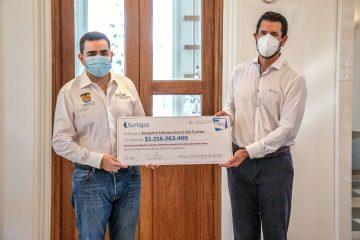 Surtigas dona $1.216 millones en equipos biomédicos y protección para Bolívar