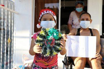 En Navidad, Acuacar está presente en el corazón de los niños de Cartagena