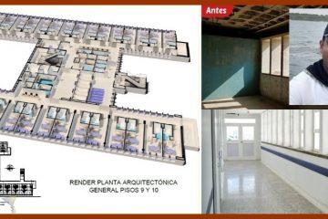 Diseñador de los pisos 9 y 10 del Hospital Universitario del Caribe, el 'Arquitecto del Año'