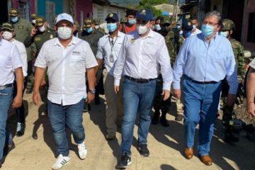Mindefensa y Gobernación anuncian medidas para enfrentar al ELN en el sur de Bolívar