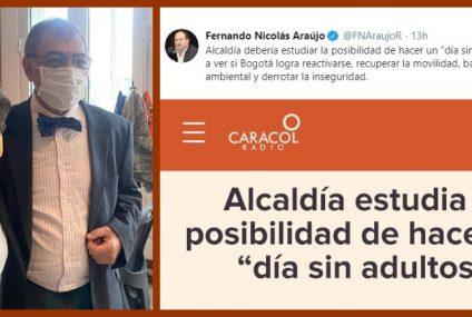 """«Alcaldía debería estudiar la posibilidad de hacer un 'día sin show mediático'"""": Fernando Araújo"""
