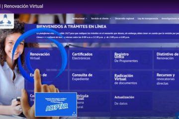 CamComercio publica videotutoriales para guíar a los usuarios en sus trámites registrales