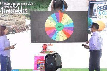 Primeros 50 usuarios puntuales de Acuacar ganan kits escolares y pasadías