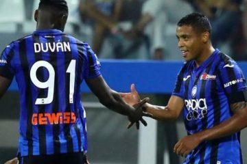 Muriel y Zapata, determinantes en la goleada 3 a 0 del Atalanta al Parma