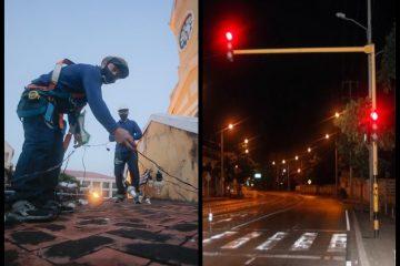 En Cartagena, ni el alumbrado público ni los semáforos son operados conforme a la Ley