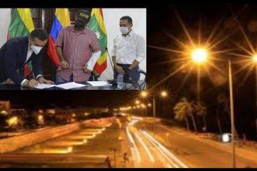 Solo desde el 1 de febrero el alumbrado público de Cartagena volverá a tener operador