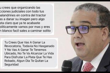 Fiscalía investiga amenazas de muerte contra el exalcalde Pedrito Pereira